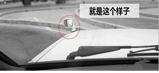 科二技巧 曲线行驶的图解技巧
