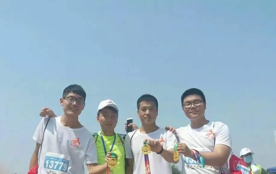 马拉松 和我一起在龙子湖跑起来
