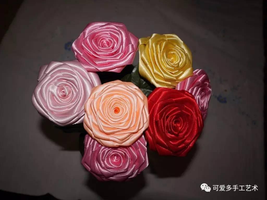 布艺彩带编织方法