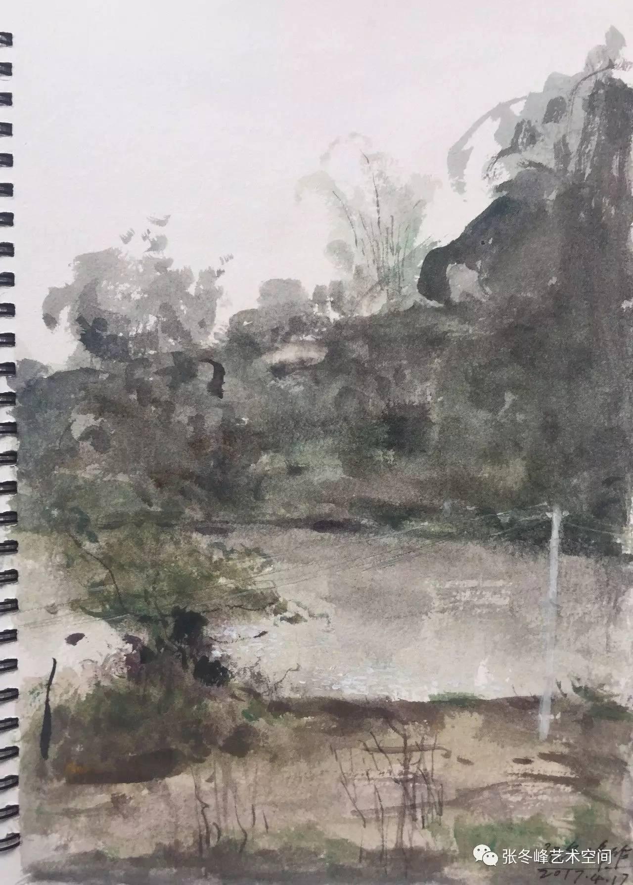 张冬峰风景油画,水彩作品微展.高清