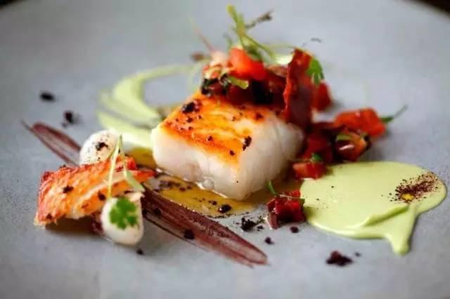 食物也要性冷淡,伦敦北欧米其林一星餐厅菜品赏析图片