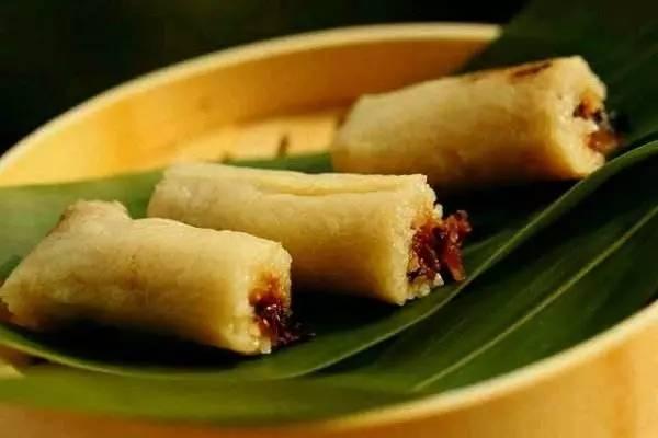 锥形的……什么形状都有 长棕 这种粽子多见广西等地,一般用粽叶包裹图片