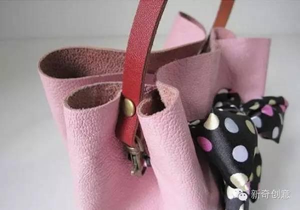 手工教程:diy手提小皮包
