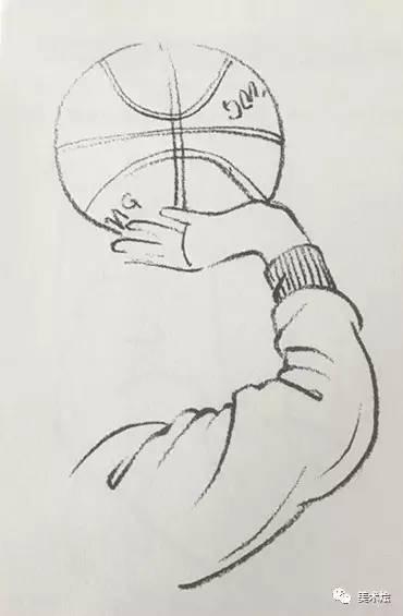 素描教程 手臂的画法