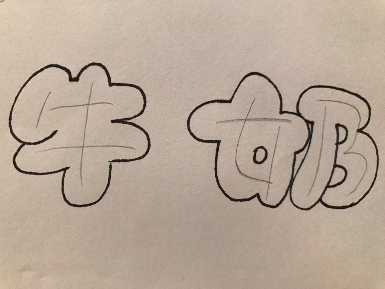 手绘| 艺术字体