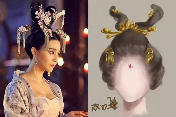 云鬓花颜金步摇,带你走进唐朝的发型时尚界图片