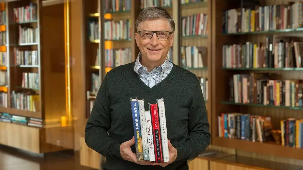 比尔盖茨5月23日公布 首富也要爱学习,这是我的夏季读书清单 阅读课图片