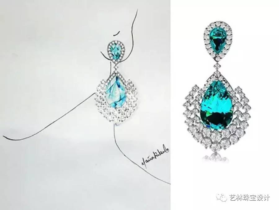 珍珠设计图手绘
