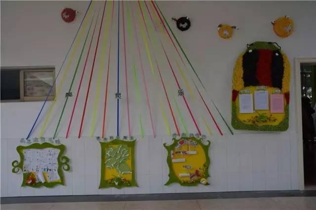 """幼儿园的班级环境创设更是作为一种""""隐性课程"""",在开发幼儿智力,促进"""