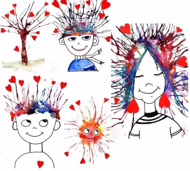 幼儿园手工之废物利用,学好涂鸦,没想到能这样玩