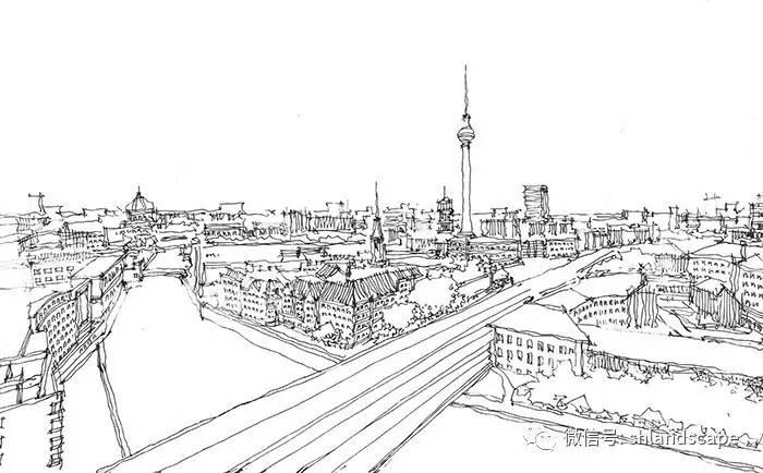 二.城市综合体的鸟瞰图表现