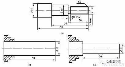 【零件图专题】机械制图教程-零件图的视图选择