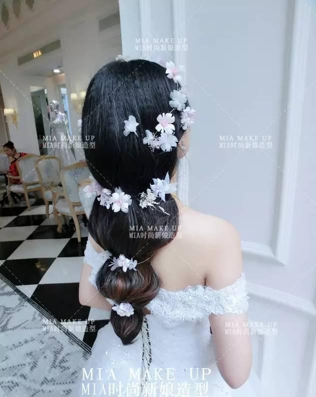 2017最美风尚新娘发型30款,建议化妆造型师收藏!