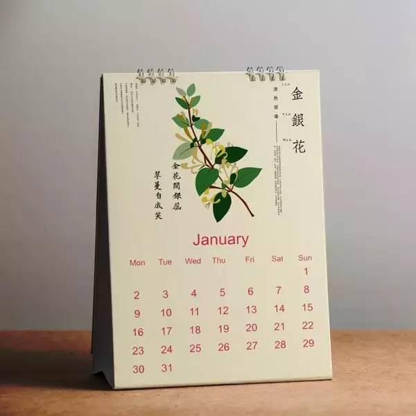药历》   将中草药扁平化设计后    ① 中药拼贴画 《金银花》   新鲜的
