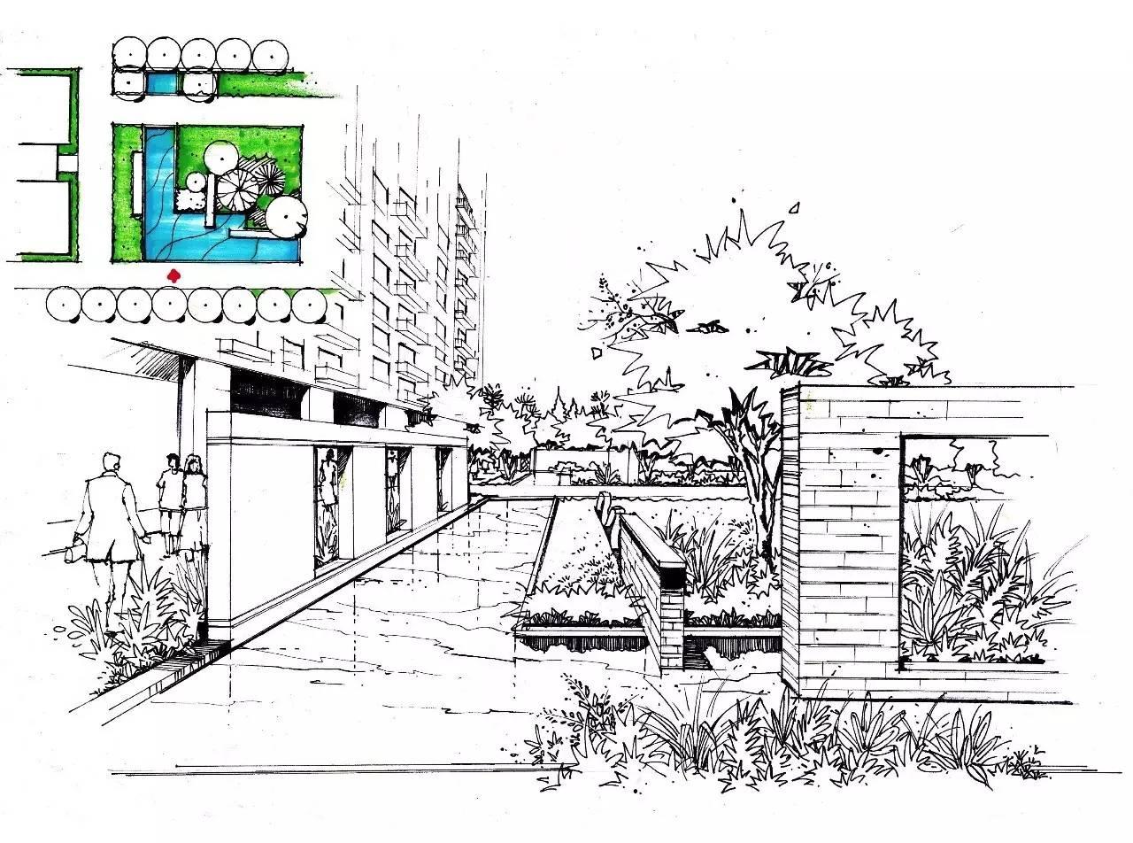 马克笔单体上色示范 6 手绘设计的应用 (6月4日 19:00-21:00) 空间转