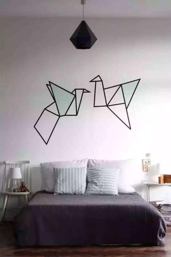 原来一卷胶带就可以让你家变得这么美!图片