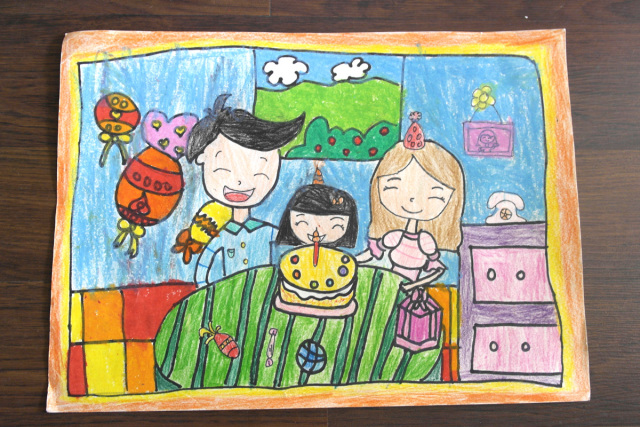 儿童画 640_427图片