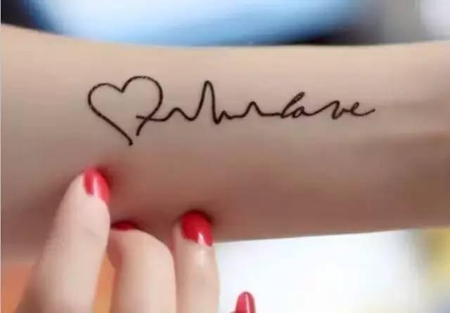 小纹身_半永久小纹身原来可以这么美!