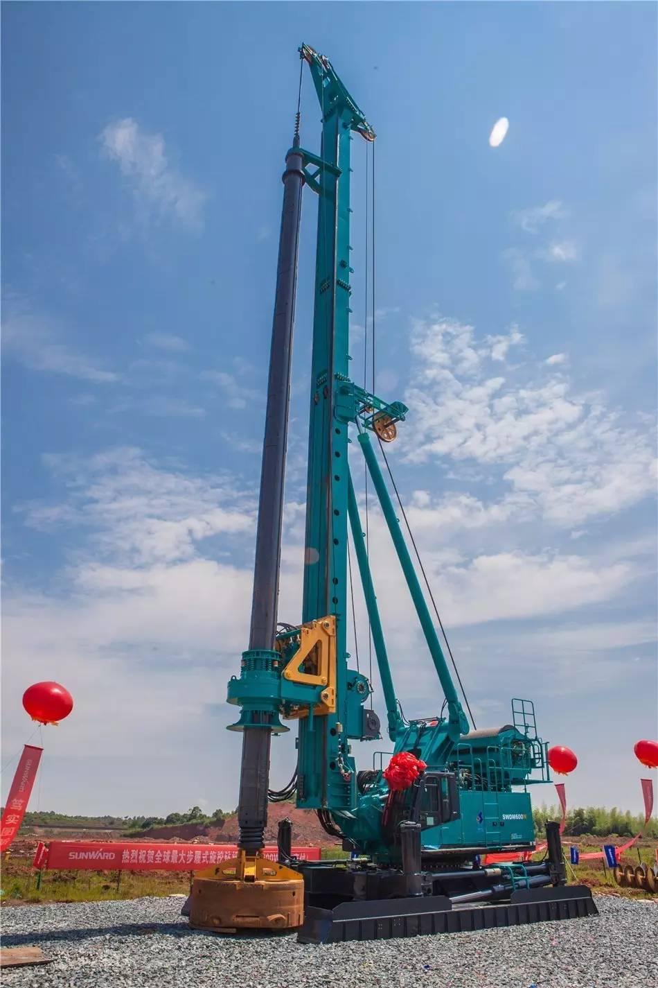产品|带你走近全球最大步履式旋挖钻机swdm600w图片