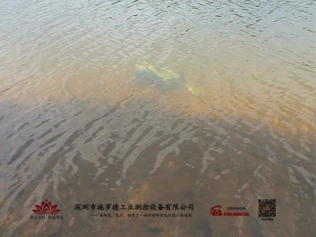 管道爬行机器人水下检测