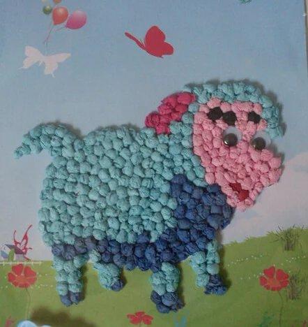 实用干货:幼儿园创意揉纸画大全!图片