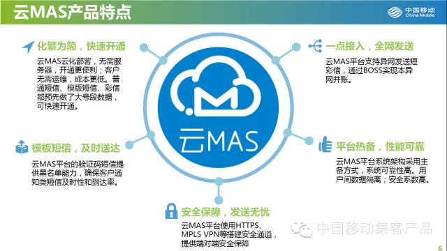 中国移动云mas-新一代短信平台,服务器云化部署,开启