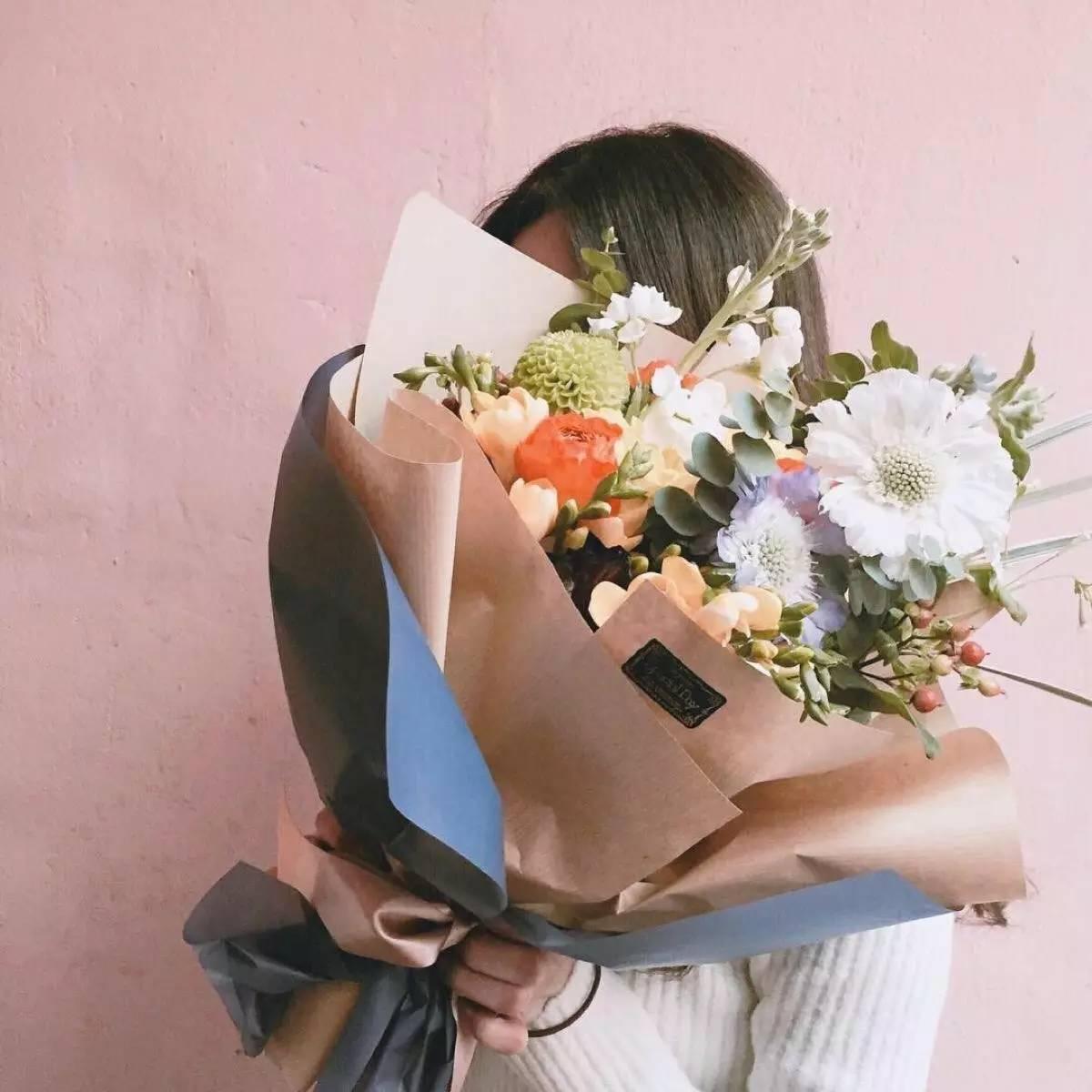 微信头像清新唯美花朵