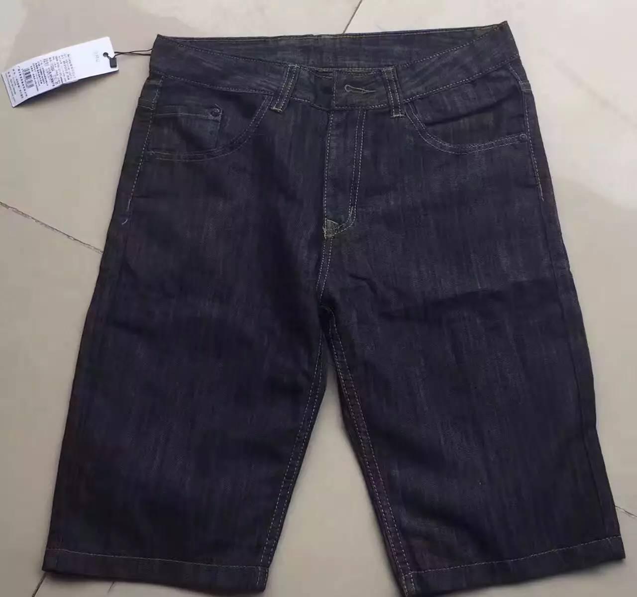 男士牛仔中裤,全清13元/件,50件起批|库存服装批
