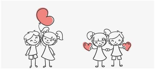 动漫 简笔画 卡通 漫画 手绘 头像 线稿 516_230