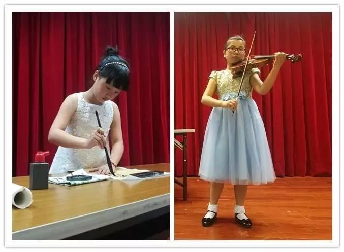 表演与翁昕妤的小提琴曲《茉莉花》同台演绎,更是让人体味到深深的
