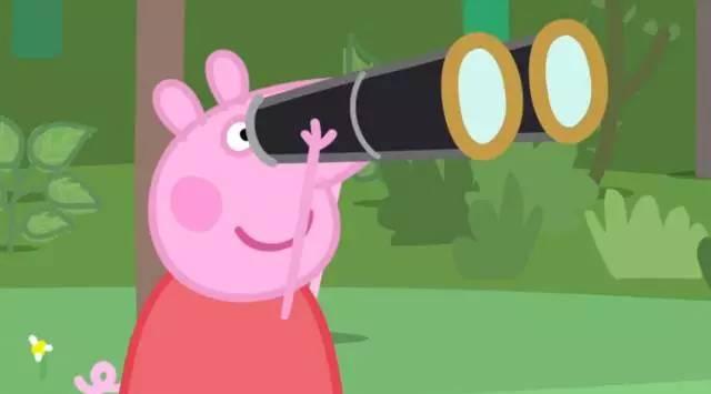 小猪的脚印像什么-小朋友都想知道,佩奇望远镜里的秘密图片