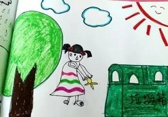 们用画笔描述了心中的文明城市