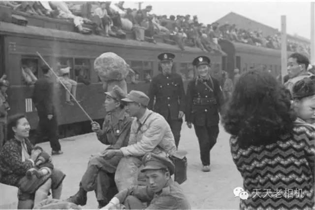 1949年4月,上海北站,-历史的瞬间,40张未公开照片