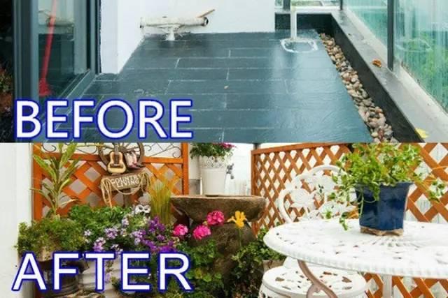美打造阳台花园