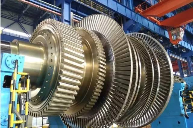 汽轮机凝汽器,高中压模块,低压模块,发电机定子,发电机转子,汽水分离