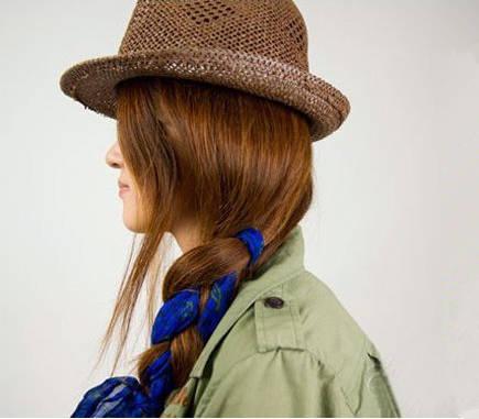 学会用丝巾编头发,让美丽与夏天一起绽放!
