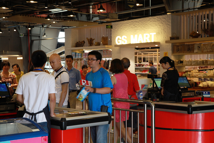 金海船跨境商超全新升级,打开深圳跨境购物新局面