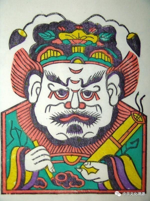 朱仙镇木板年画中的钟馗