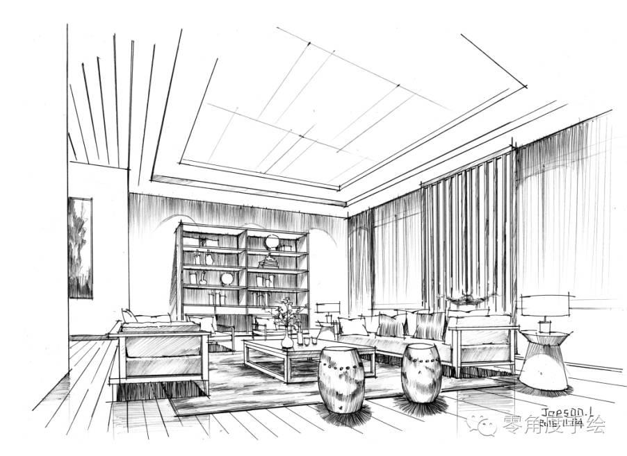 室内设计手绘干货
