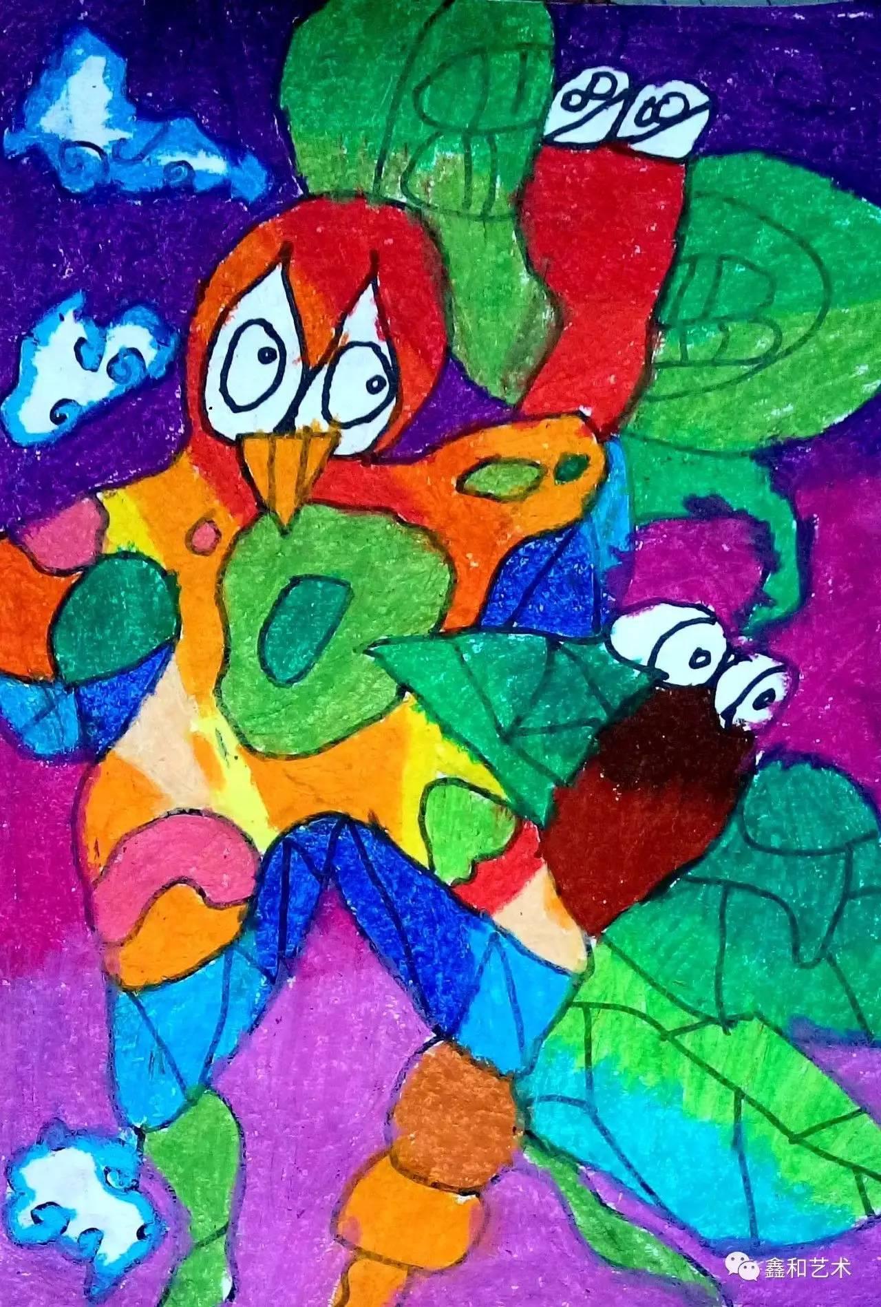 让我们一起记录孩子成长的印记   如果您的孩子也喜欢绘画,欢迎加入七九八少儿美术培训中心   童年趣事