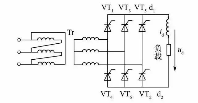 高频淬火机电路原理图-多机床上常用的电路图,有用就拿去