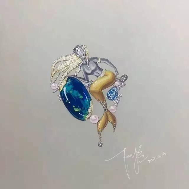 北京|珠宝手绘6月15日课程