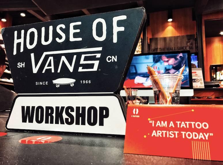 """学院 为大家带来纹身艺术创作体验课 """"教导主任""""arvin 和""""纹身师""""nanc"""