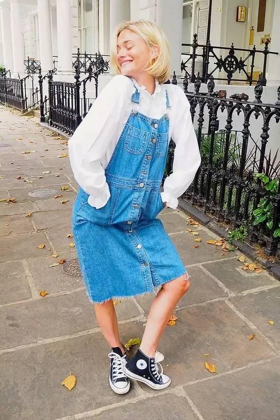 """球鞋裙装:舒适美丽兼备的时髦cp,让你回头率剧增!"""""""