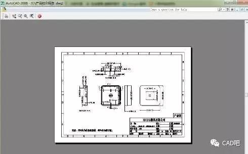 pdf转cad_dwf如何转换成cad格式的方法