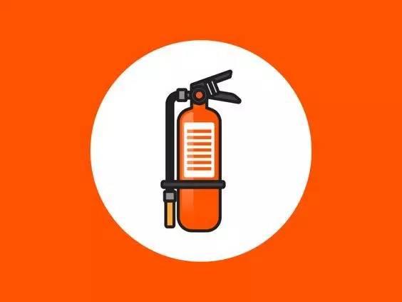 灭火器cad图标-警钟 首饰实验室安全