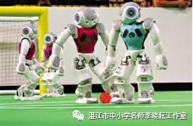 未来的机器人能参加足球赛 这不是梦