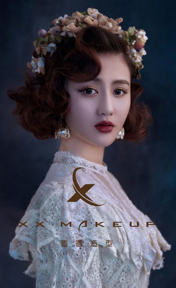 复古新娘造型 塑造气场女王范儿