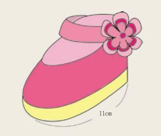 钩织鞋带 按照示意图. 3.图片
