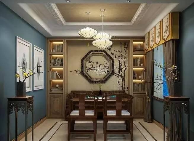红楼书香,你想要的新中式书房全在这里!图片